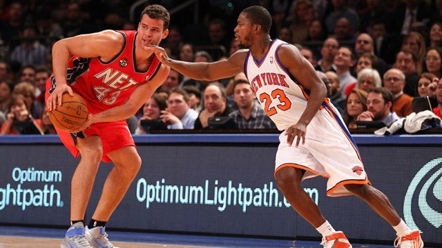 Kris Humphries Gets Booed By The Crowd During His First Game Back In The NBA