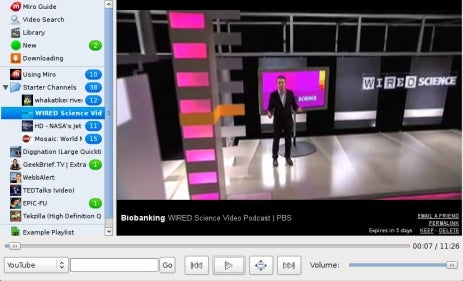 Open Source Video Player Miro Hits 1.0