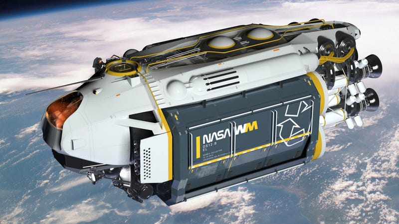 The magnificent garbage ship that could save us from space junk