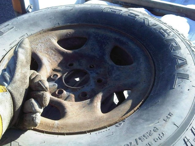 how to change a tire easy steps