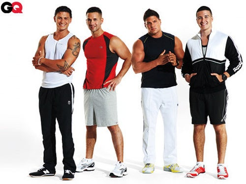 The Guys From Jersey Shore Get A Mini-Makeover