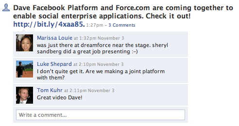 Facebook engineer stumped by Facebook-Salesforce.com news