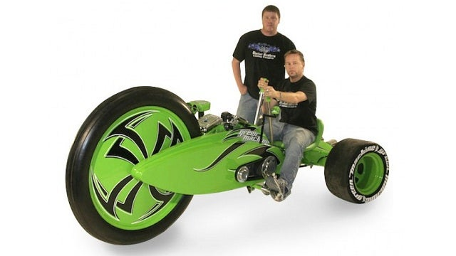 This Motorized Big Wheel Looks All Sorts of Deadly