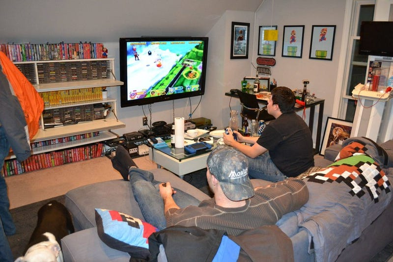 """A Gaming Room For Which The Word """"Room"""" Doesn't Really Do It Justice"""