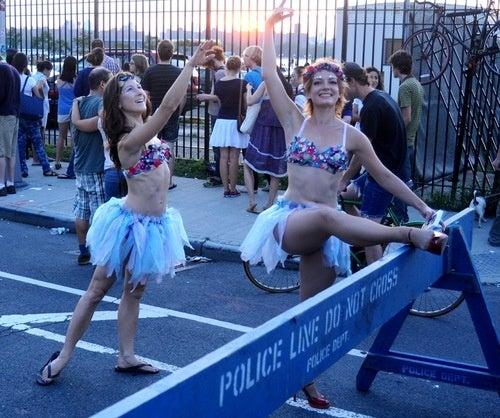 A Wild Bear Attack at Brooklyn Free Concert