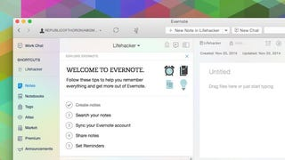 Evernote for Mac Updated with Sleeker Design and Performance Features