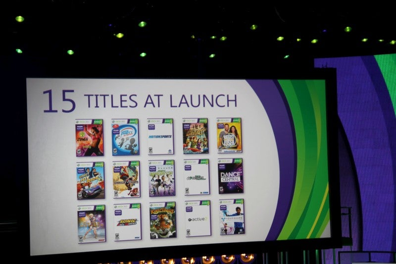 Kinect Launching November 4 With 15 Launch Titles