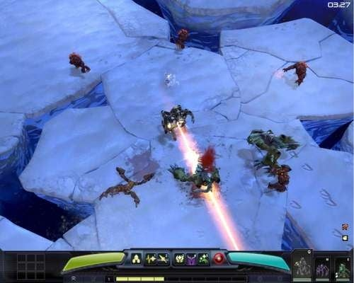The Lighting, Lasers and Fire of Darkspore