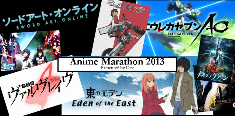 Anime Marathon Recap: October