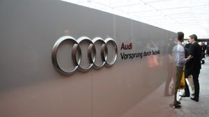 Audi Has The Prettiest Booth At CES