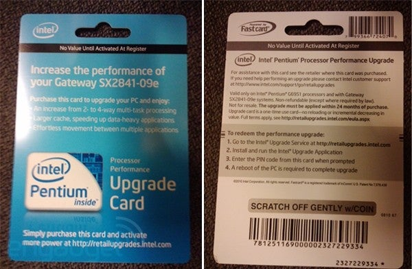 Intel Graciously Unlocks the Processing Power Your PC Already Has for $50 Fee