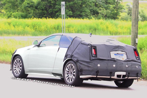 2010 Cadillac CTC, Cadillac CTS Coupe, Spotted From Behind