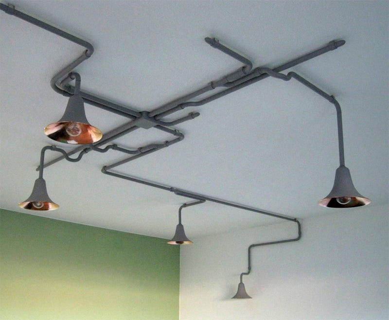 Who Said Ceiling Lights Had to Be Boring?