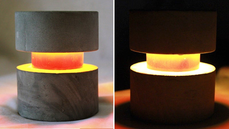 The Indestructible Concrete LED Lamp You'll Own For the Rest Of Your Life
