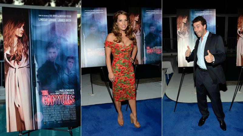 Where Was Lindsay Lohan at The Canyons Premiere?