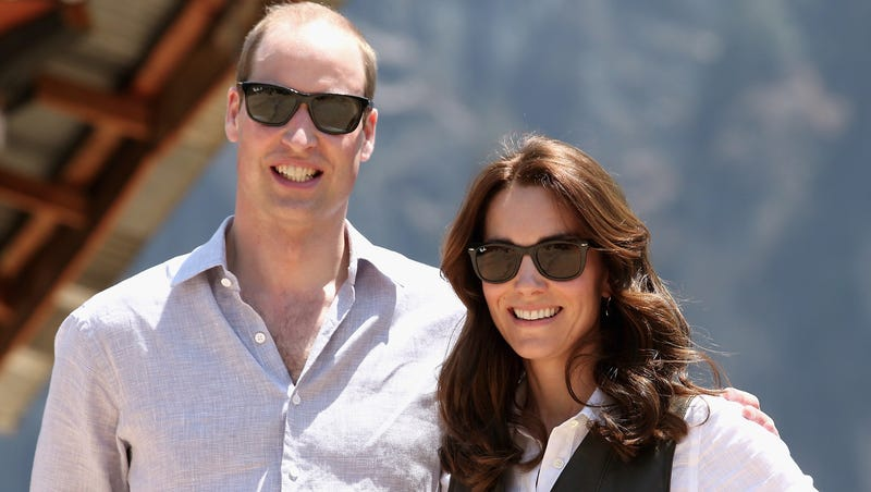 Duke and Duchess of Cambridge in Himalayan kingdom of Bhutan