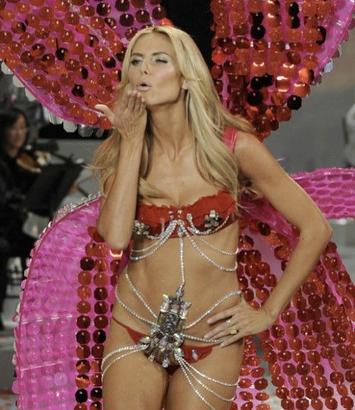 Heidi Klum's Bionic Breasts Gear Up for Another Victoria's Secret Show