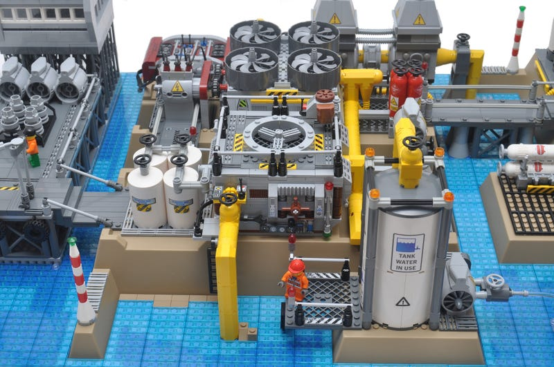 Until today, you never knew you wanted a LEGO desalination plant