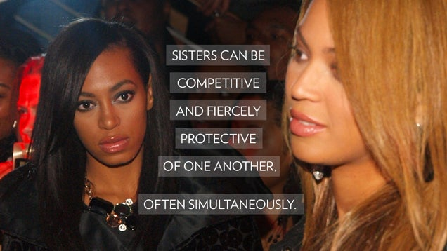 ​Beyoncé, Solange and the Insane Complexity of Sisters and Marriage