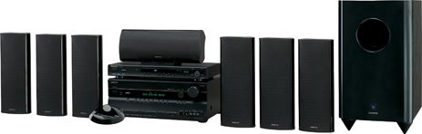 Onkyo Home Theater in a Box Has HDMI 1.3a, 10-inch Sub, 1080p DVD Player