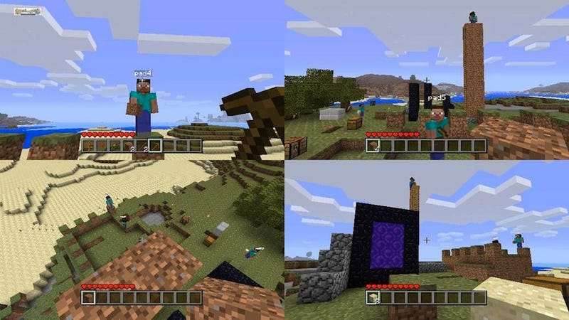 Xbox Minecraft Locks Some Players Out Of Its Biggest New Feature
