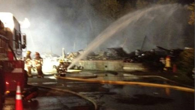 Here's The Aftermath Of Last Week's Devastating $2 Million Classic Car Fire