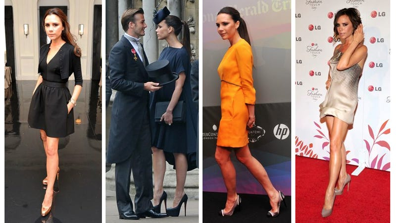 Victoria Beckham Condemned To Wear Flats