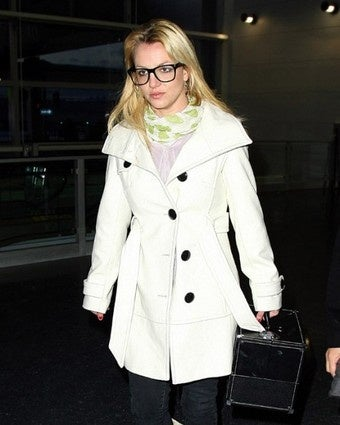 Britney Spears' Big Cute Eyeglasses Deflect Abortion Rumor