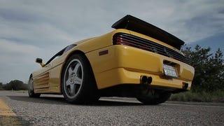 Video: The 610HP, Twin-Turbo, Flamespitting Ferrari 348 Challenge