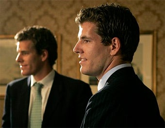 Winklevoss Twins Still Really Steamed About This Facebook Thing