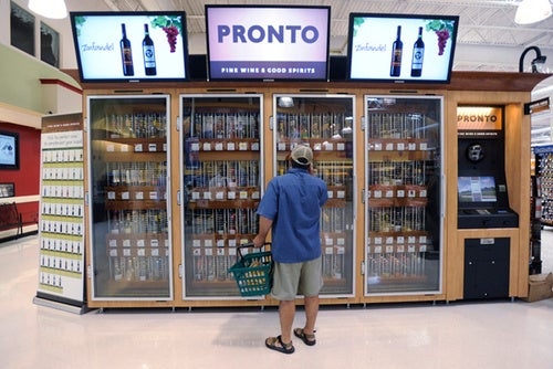 Wine Vending Machines Are the Reason You've Been Saving All That Loose Change