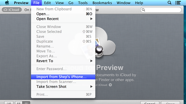 how to open a shared photo stream on mac