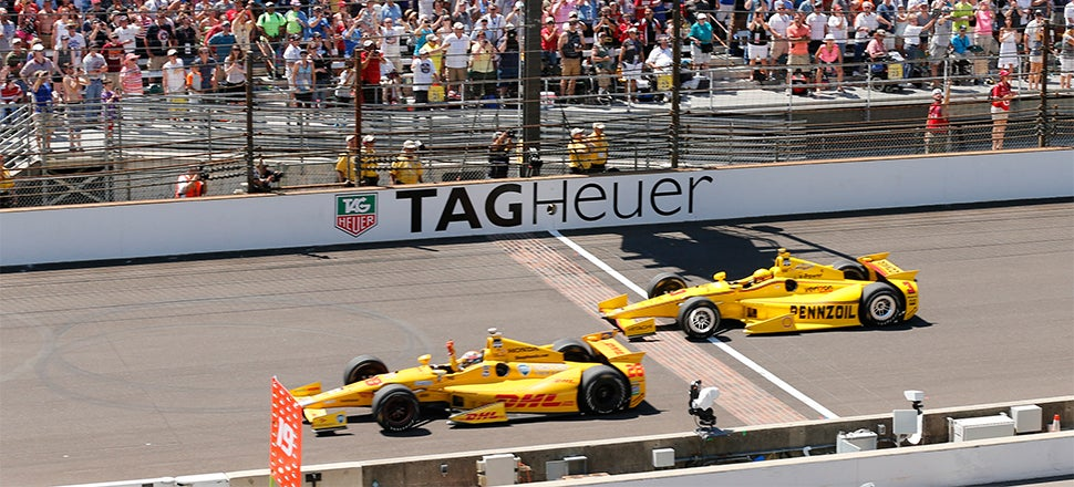 This Is How Crazy Close The Indy 500 Finish Was