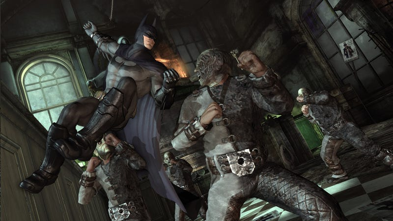 PC Arkham City Slips to November, Still Looks Gorgeous