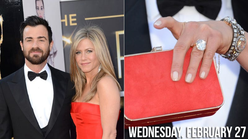 Jennifer Aniston and Her Huge, Huge Engagement Ring Are Planning Their Wedding