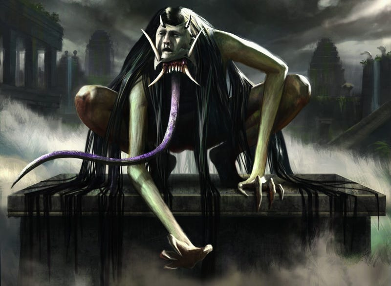 the scariest creepiest and most gothic magic cards of all