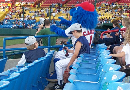 Sorry, BlueClaws' 'Kids Eat Free' Promotion Does Not Include Beer
