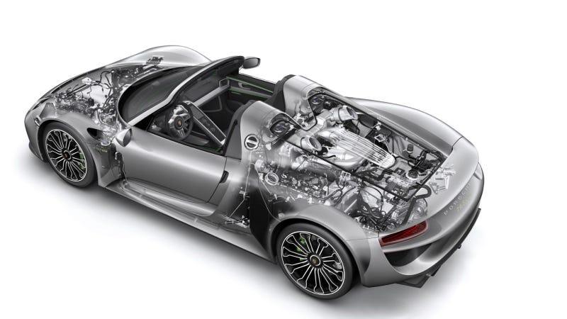 The 887 HP Porsche 918 Spyder Will Get '85 To 94' MPG