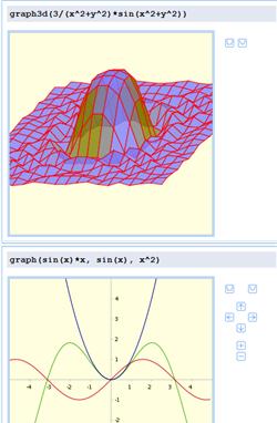 Calc5 online graphing calculator