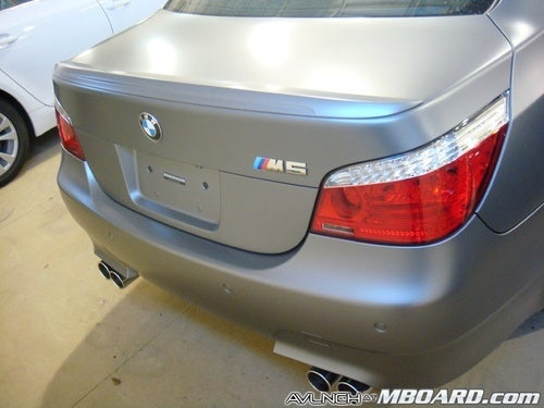 Gallery: Matte-Painted BMW Individual M5