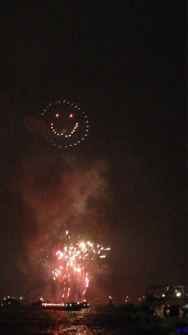 Amazing Fireworks for Japanese Comic Book Nerds