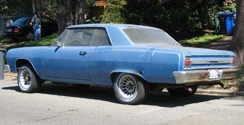 1965 Chevrolet Chevelle, With Bonus GM A-Body Poll