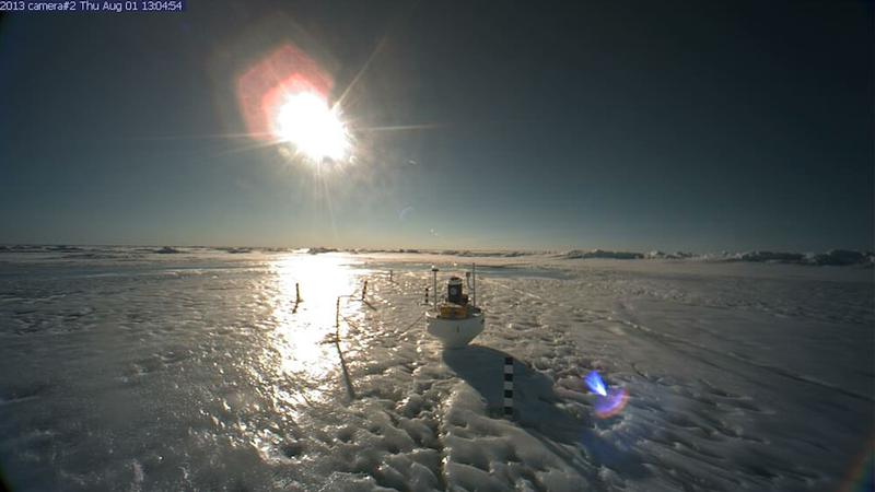 IMPORTANT NORTH POLE UPDATE: It's Frozen Again