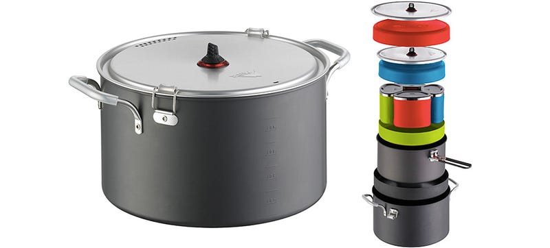 Everything a Camp Cook Could Need Fits Inside This Nesting Doll Pot