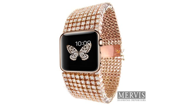 Don't Spend $30,000 On This Stupid Diamond-Covered Apple Watch