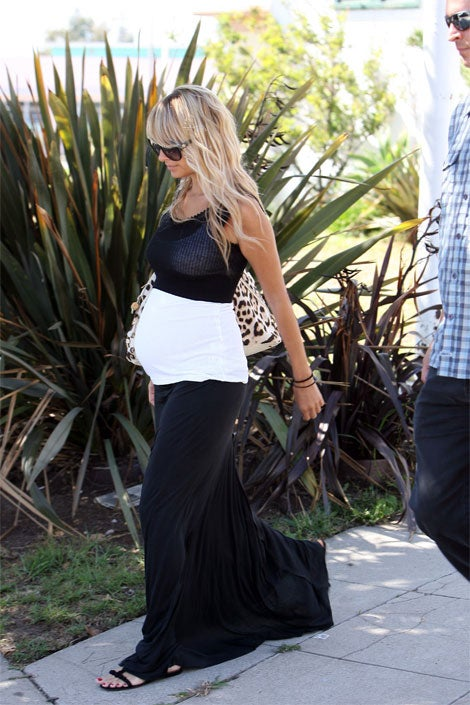 Nicole Richie's Oreo Cookie Ensemble