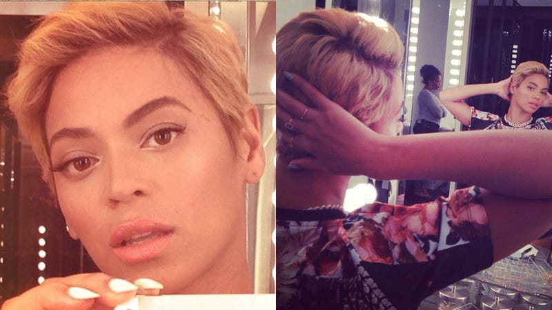 OMFG Beyoncé Just Cut Off All Her Hair.
