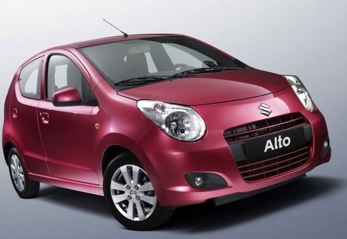 Suzuki Maruti Alto To Debut In Paris, Take On Europe