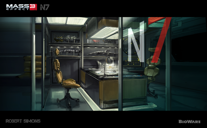 Check out the Normandy 3, in possible Mass Effect 3 concept art!