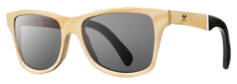 Stylish Sunglasses Made From Salvaged Shattered Louisville Sluggers